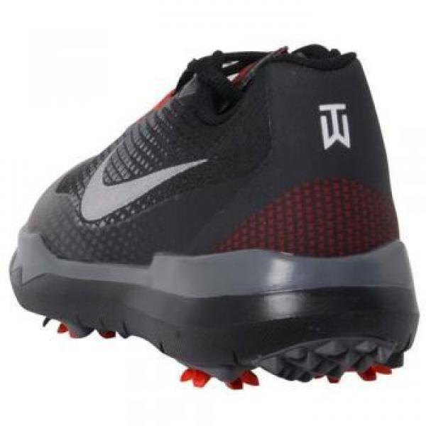 (セール)(送料無料)NIKE(ナイキ)ゴルフ メンズゴルフシューズ ゴルフ シューズ TW15 メンズ 704885-001 メンズ ブラック/ホワイト/チャレンジレッド/ダークグレー
