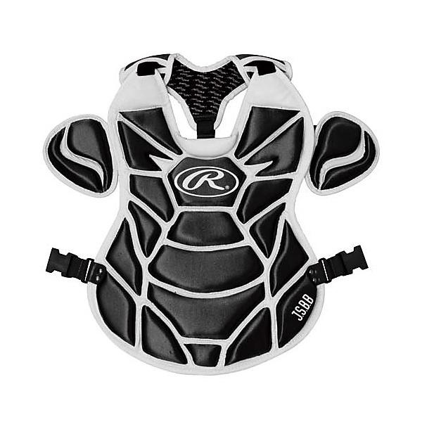 (送料無料)Rawlings(ローリングス)野球 キャッチャーギア/ヘルメット プロテクター 軟式用 CPR5950-B/W 440X440MM B/W
