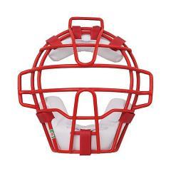 <LOHACO> Rawlings(ローリングス)野球 キャッチャーギア/ヘルメット 少年軟式用マスク(C・D号ボール対応) CMJ5100 メンズ RD/W画像