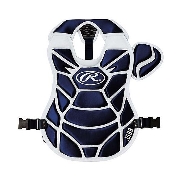 (送料無料)Rawlings(ローリングス)野球 キャッチャーギア/ヘルメット プロテクター ジュニア軟式用 CPJ5950-N/W ジュニア 400X400MM N/W