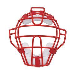 <LOHACO> (送料無料)Rawlings(ローリングス)野球 キャッチャーギア/ヘルメット ソフトボール用マスク CMS5100 メンズ RD/W画像