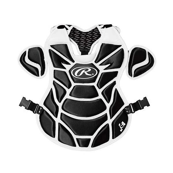 (送料無料)Rawlings(ローリングス)野球 キャッチャーギア/ヘルメット プロテクター ソフトボール用 CPS5950-B/W 440X440MM B/W
