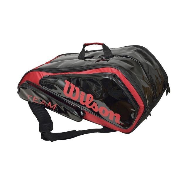 (セール)WILSON(ウィルソン)ラケットスポーツ バッグ ケース類 TEAM 6PK BAG WRZ897506