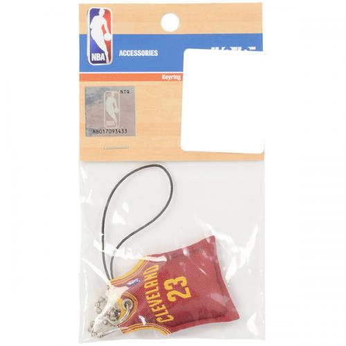 adidas(アディダス)バスケットボール アクセサリー UNI CHARM JAMES#23 NBA29318 エンジ
