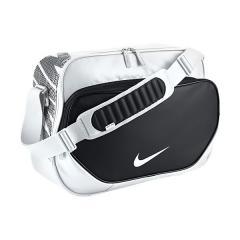 <ロハコ>(セール)NIKE(ナイキ)スポーツアクセサリー エナメルバッグ ナイキ オールチーム PU ミディアム BA4963-101 メンズ MISC ホワイト/ホワイト/(ブラック)画像