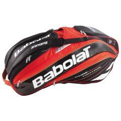 (送料無料)Babolat(バボラ)テニス バドミントン ラケットバッグ ケース 15RHX12PCTL BB751096 レツド