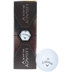 (セール)Callaway(キャロウェイ)ゴルフ ボール BL CG LEGACY BLACK 15 3B PK JM 64218520300117 WHT
