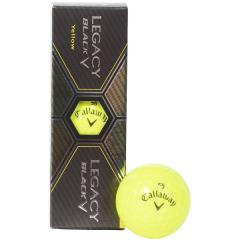 (セール)Callaway(キャロウェイ)ゴルフ ボール BL CG LEGACY BLACK YLW 15 3B PK JM 64219520300117 YLW