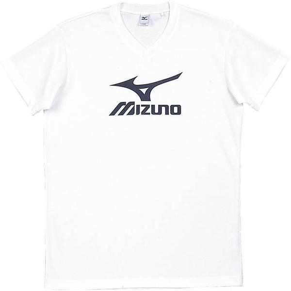 MIZUNO(ミズノ)バレーボール 半袖プラクティスシャツ プラクティスシャツ V2JA408070 ホワイトxブラック