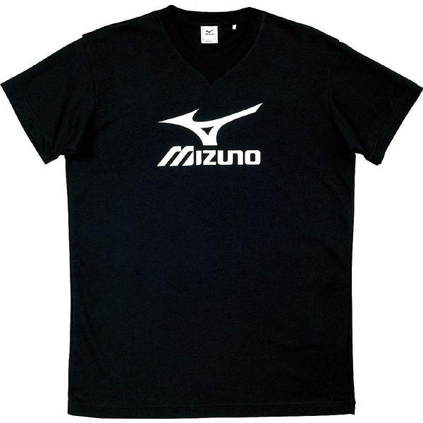 MIZUNO(ミズノ)バレーボール 半袖プラクティスシャツ プラクティスシャツ V2JA408090 ブラックxホワイト