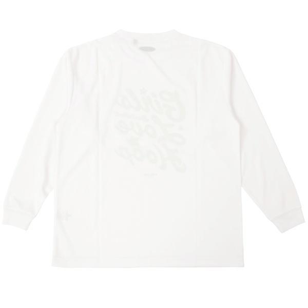 (セール)s.a.gear(エスエーギア)バスケットボール レディース 長袖Tシャツ WS長袖グラフィックT SA-F15-103-056 レディース ホワイト