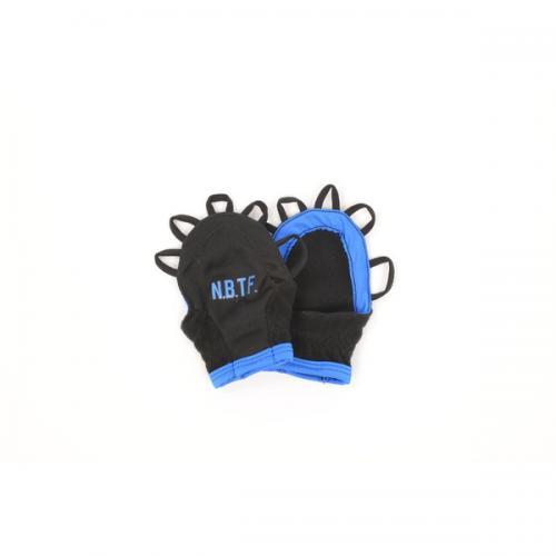 Number(ナンバー)バスケットボール アクセサリー ジュニア手甲グローブ NB-F15-103-008 ジュニア FREE ブルー
