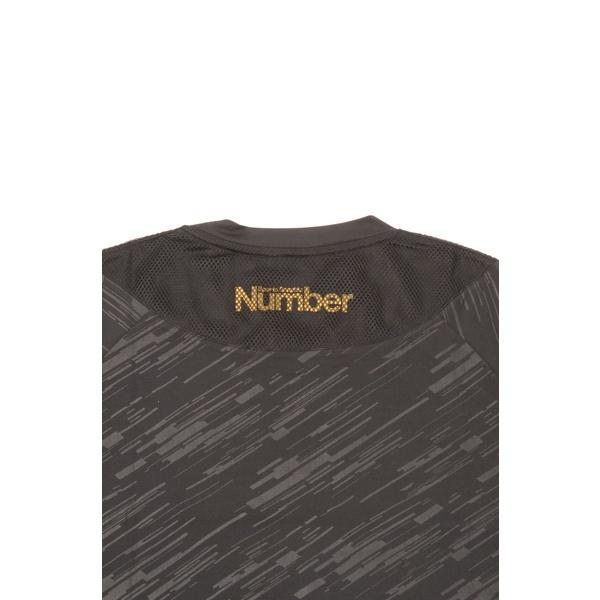 (セール)Number(ナンバー)バスケットボール メンズ 長袖Tシャツ NBTF 長袖ロゴTシャツ NB-F15-103-011 メンズ ブラック