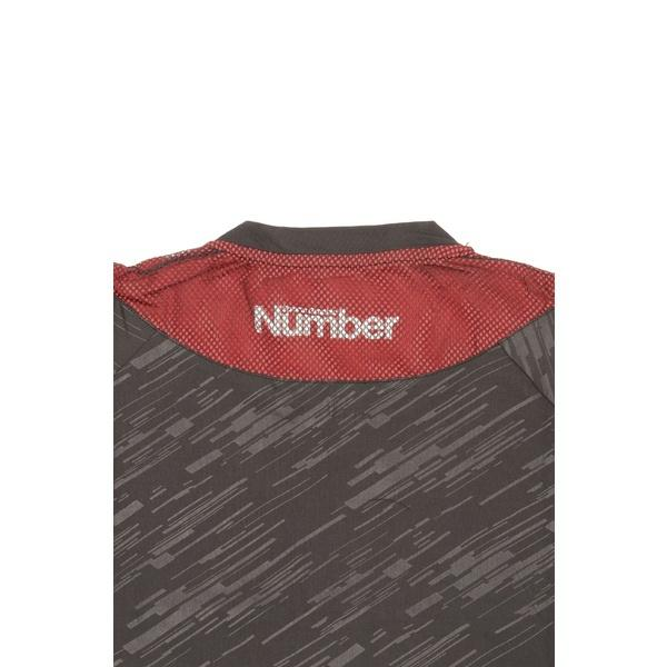 (セール)Number(ナンバー)バスケットボール メンズ 長袖Tシャツ NBTF 長袖ロゴTシャツ NB-F15-103-011 メンズ レッド