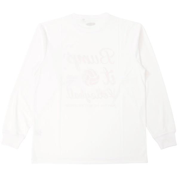 (セール)s.a.gear(エスエーギア)バレーボール 長袖Tシャツ 長袖グラフィックT SA-F15-104-010 ホワイト