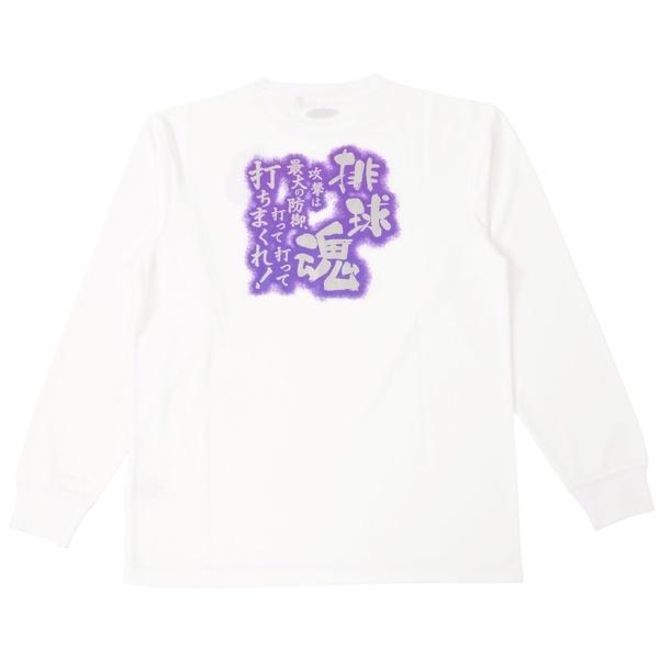 (セール)s.a.gear(エスエーギア)バレーボール 長袖Tシャツ 長袖グラフィックT SA-F15-104-012 ホワイト