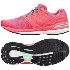 adidas(アディダス)ランニング レディースランニングシューズ 15SS SN SEQUENCE BST B33450 レディース PINK  [エスノバシークエンスドブースト2ウィメンズ