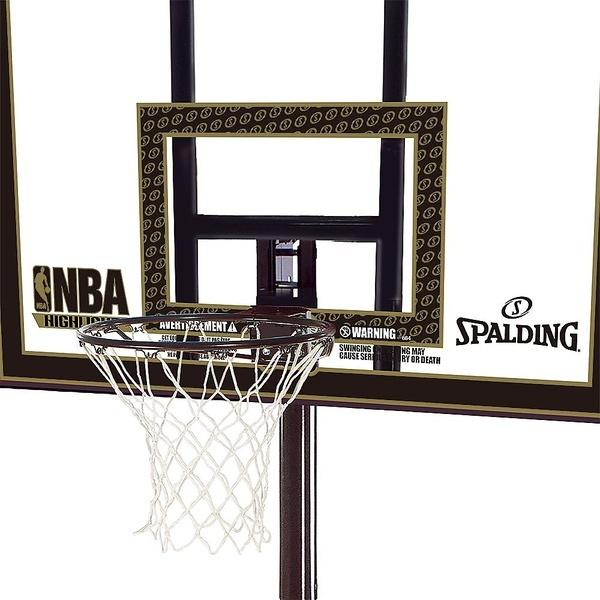 (送料無料)SPALDING(スポルディング)バスケットボール バックボード トイ 【メーカー直送品】ハイライトポータブルSA 77684CN