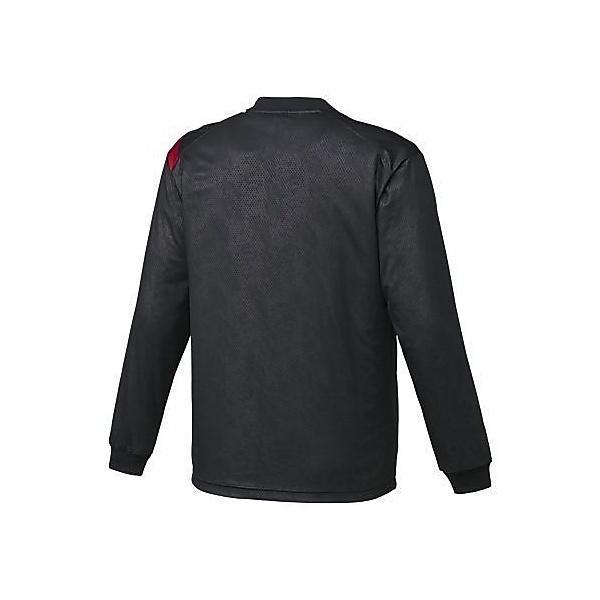 (セール)ASICS(アシックス)バスケットボール メンズ プラクティスシャツ TシヤツLS GB XB6560 9024 BLK/RED