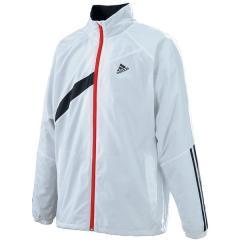 (セール)adidas(アディダス)テニス バドミントン ウインドアップ M ウインドジャケット(裏起毛)AP7123 メンズ ホワイト