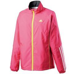 (セール)adidas(アディダス)テニス バドミントン レディースウインドアップ M ウインドジャケット(裏起毛)AP7127 レディース ブラック