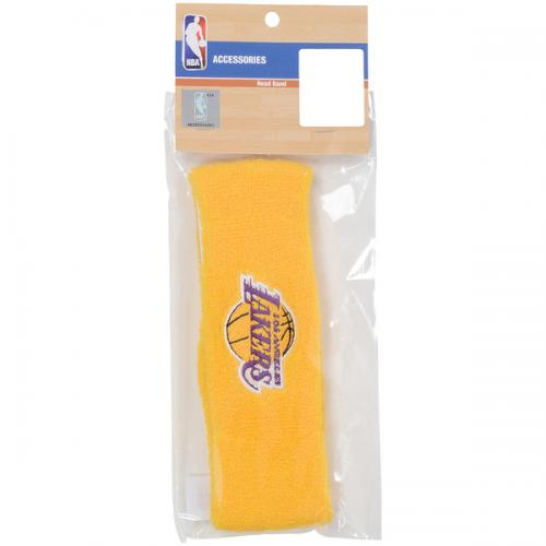 adidas(アディダス)バスケットボール アクセサリー ヘアバンドLA NBA74359 YEL