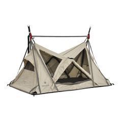 (送料無料)Snow Peak(スノーピーク)キャンプ用品 ファミリーテント SKYNEST IVORY SD-660