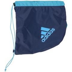 adidas(アディダス)サッカー 3層デイバック ボールバック 16S BALLBACK 1P AKM18NVB ジュニア ネイビーxブルー