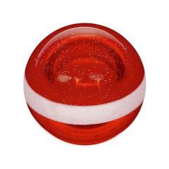 ASICS(アシックス)グラウンドゴルフ ボール ハイパワーボール ストレート GGG330.23 F レツド