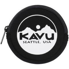 A&F(エイアンドエフ)トレッキング アウトドア サブバッグ ポーチ KAVU CIRCLE COIN CASE 19820447001000 BLACK