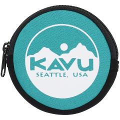 A&F(エイアンドエフ)トレッキング アウトドア サブバッグ ポーチ KAVU CIRCLE COIN CASE 19820447038000 GREEN