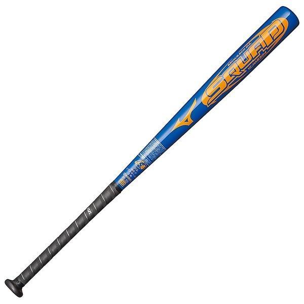 (送料無料)MIZUNO(ミズノ)ソフトボールバット SQUAD 1CJMS30483 27 メンズ ブルー