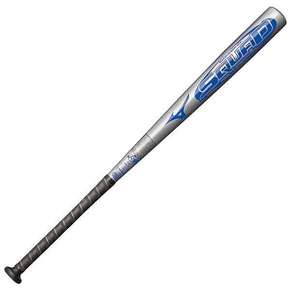 (送料無料)MIZUNO(ミズノ)ソフトボールバット SQUAD 1CJMS30484 03 メンズ シルバー