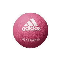 adidas(アディダス)その他競技 体育器具 ドッジボール ジュニアトイ ソフトドッジボール ピンク色 AD210P ジュニア 2 ピンク