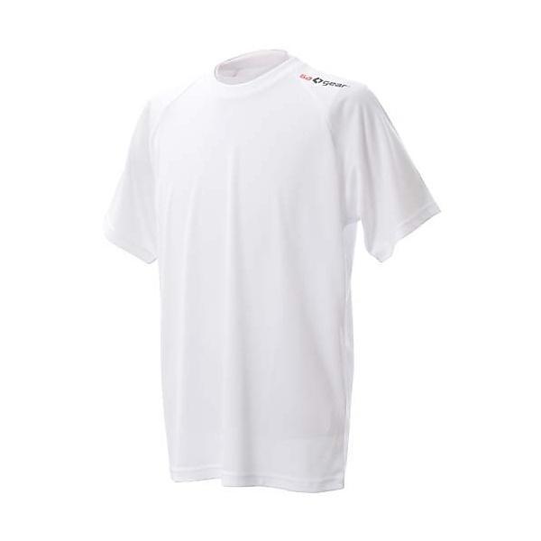 (セール)s.a.gear(エスエーギア)バレーボール 半袖Tシャツ 半袖ワンポイントTシャツ SA-Y14-104-004 WHT WHT