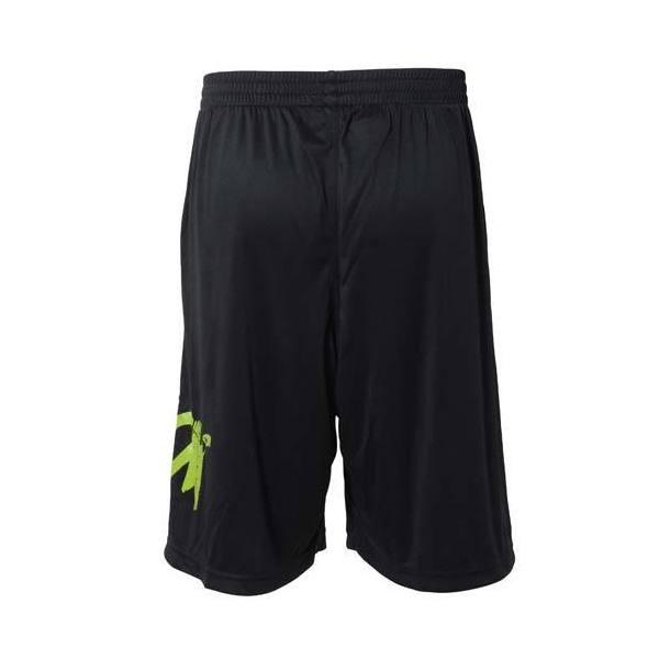(セール)s.a.gear(エスエーギア)バスケットボール メンズ プラクティスショーツ SGロゴショーツ SA-S15-103-001 ブラックXライム