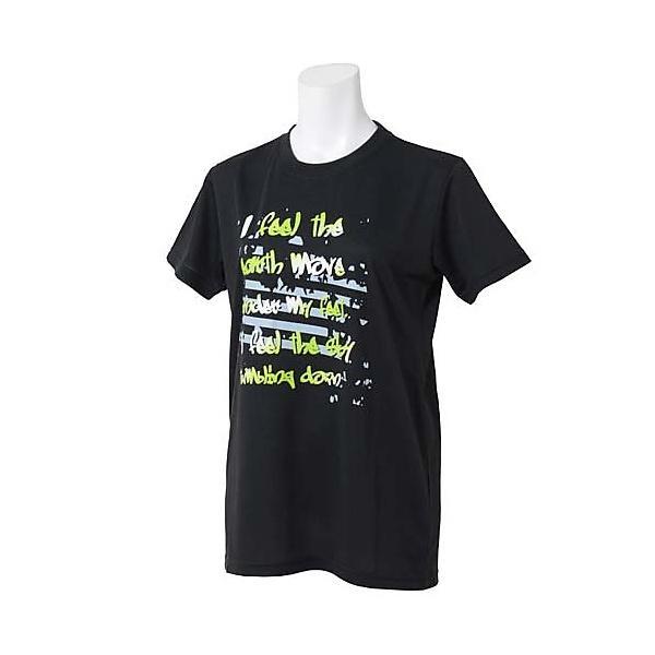 (セール)s.a.gear(エスエーギア)バスケットボール レディース 半袖Tシャツ WSグラフィックTシャツ SA-S15-103-020 レディース ブラックXライム