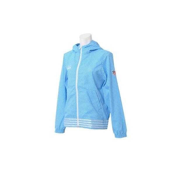 (セール)Number(ナンバー)ゴルフ レディースジャケット ウィメンズドットエアージャケット NB-S15-202-052 レディース ブルー