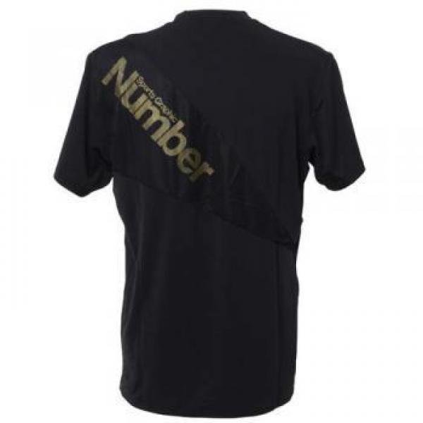 (セール)Number(ナンバー)バスケットボール メンズ プラクティスシャツ バスケットボール ウェア ストレッチシャツ メンズ NB-S15-103-001 メンズ ゴールド