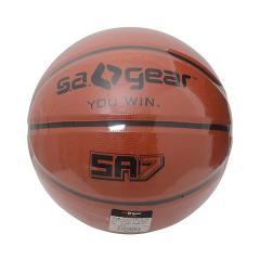 (セール)s.a.gear(エスエーギア)バスケットボール 7号ボール RUB BROWN BALL NO7 SA-Y15-103-032 7 ブラウン
