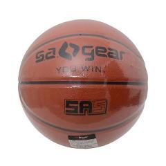 (セール)s.a.gear(エスエーギア)バスケットボール 5号ボール ゴム製バスケットボール5号 SA-Y15-103-034 ジュニア ブラウン