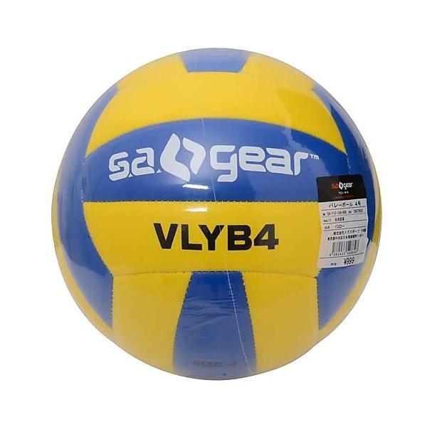 (セール)s.a.gear(エスエーギア)バレーボール 4号ボール バレーボール4号 SA-Y15-104-009 イエロー