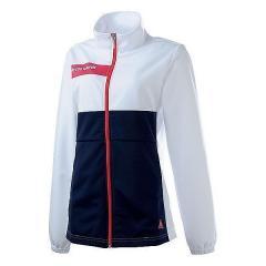 (セール)le coq(ルコック)レディーススポーツウェア ウォームアップジャケット ウォームアップ ジャケット QB-556353M レディース WHT