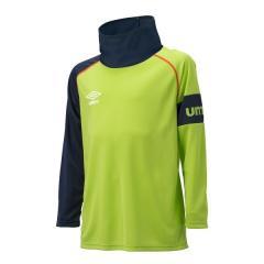 (セール)UMBRO(アンブロ)ジュニアスポーツウェア Tシャツ JR.ネックウォーマーL/Sシャツ UCA7577J ボーイズ RLIM