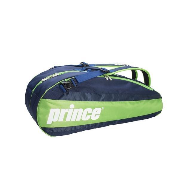 (セール)PRINCE(プリンス)ラケットスポーツ バッグ ケース類 AT672 314 NVY/GRN AT672 NVY/GRN