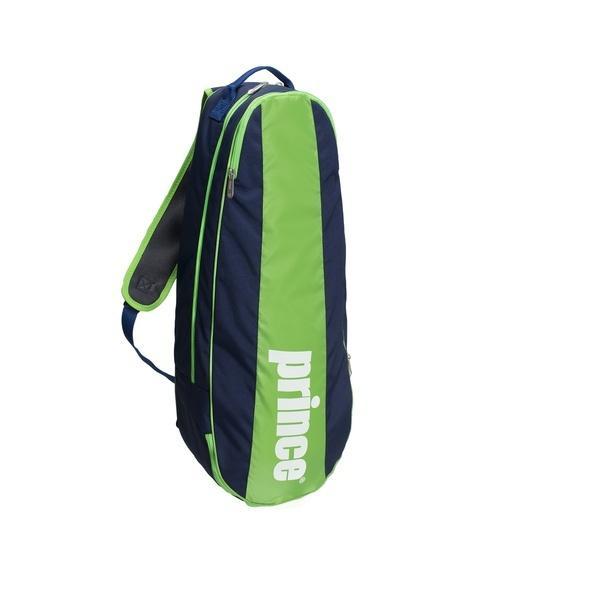 PRINCE(プリンス)ラケットスポーツ バッグ ケース類 AT675 314 NVY/GRN AT675 NVY/GRN