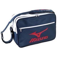 (送料無料)MIZUNO(ミズノ)スポーツアクセサリー エナメルバッグ エナメルバッグ(L) 33JS601014 14ネイビーxレッド