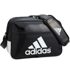 (セール)adidas(アディダス)スポーツアクセサリー エナメルバッグ BASIC エナメル S BIP39 AP3368 NS ブラック/ホワイト