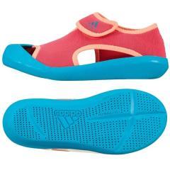adidas(アディダス)シューズ ジュニア サンダル ウォーターシューズ 【adidas2016 New】CHILD サンダルファン C KCX86 AF3878 ボーイズ ショックレッド S16/ショックグリーン S16/サングロー S16