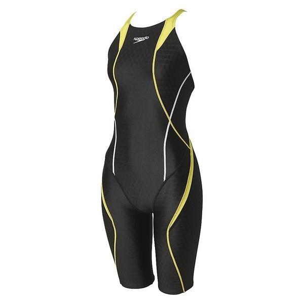 (セール)Speedo(スピード)スイミング レディース競泳 FLEX CUBE ウイメンズセミオープンバックニースキン SD46H04 レディース WL